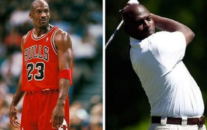 Former Athletes Who Aren't In Shape Anymore (9 pics)