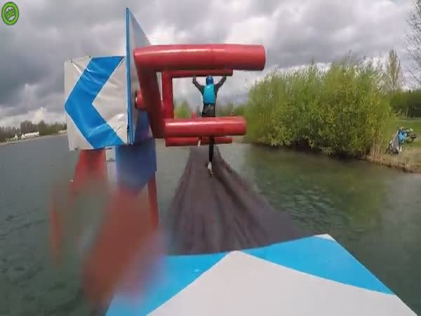 Woman Gets Repeatedly Owned By Obstacle Course