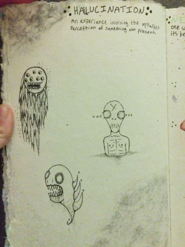 What Happens When Schizophrenia And Art Mix (14 pics)