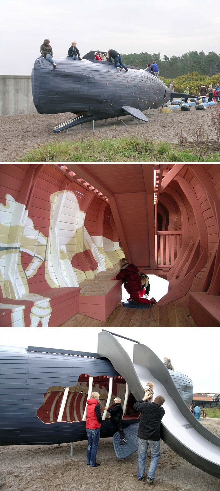 Even Grown Ups Can't Resist These Awesome Playgrounds (35 pics)