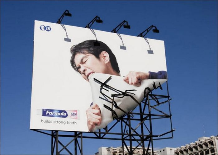 Cool Advertising That Gets Straight To The Point (32 pics)