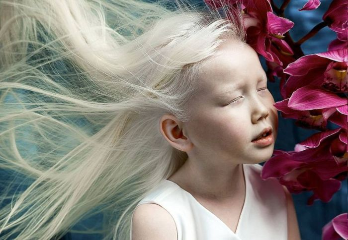This Little Girl Is Known As The Snow Queen (7 pics)