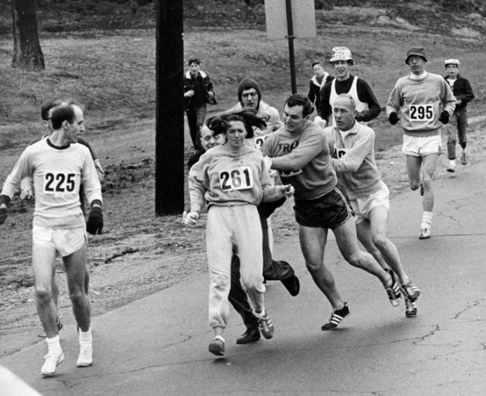 First Woman To Enter Boston Marathon Enters Again 50 Years Later (5 pics)