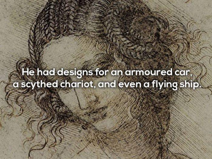 Leonardo Da Vinci Was Even More Mysterious Than His Works (14 pics)