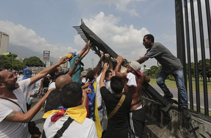 Millions Of Protesters Take To The Streets Of Venezuela (42 pics)