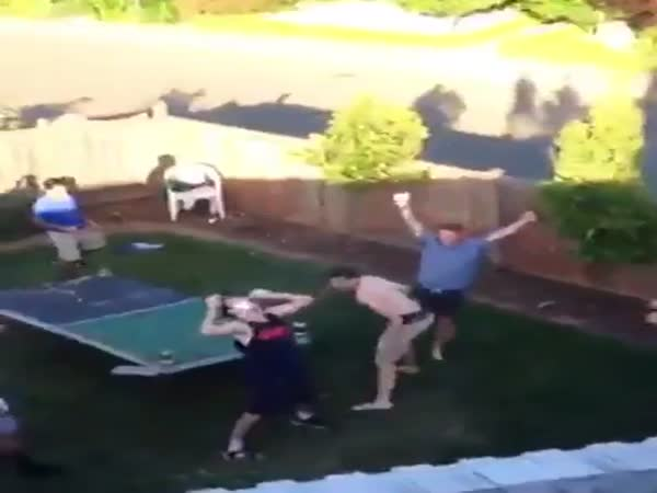 Bro Throws Beer Over House At A Party Chugged Immediately After Being Caught