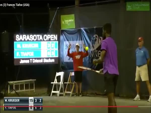 Tiafoe-Krueger Tennis Match Interrupted By Loud Sex