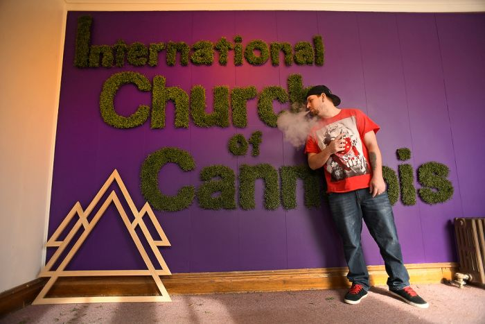 A New Cannabis Church Has Opened Up In Denver (9 pics)