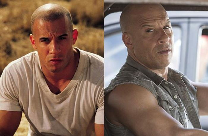 The Stars Of The Fast And The Furious Then And Now (12 pics)