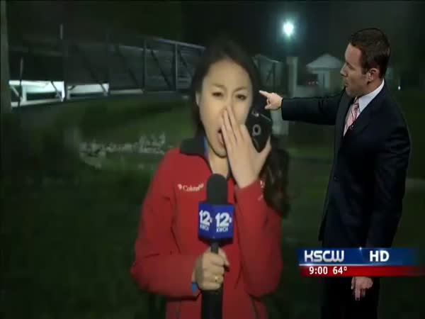TV Presenter Is Yawning On Live TV