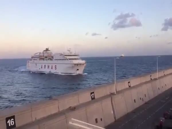 Ferry Crashed Into The Pier
