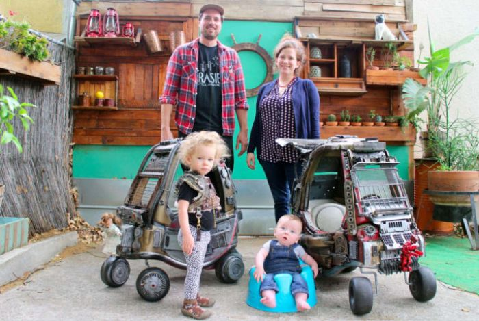 Dad Turns Cars Meant For Kids Into Something Straight Out Of Mad Max (13 pics)