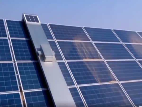 Clearing Solar Panels