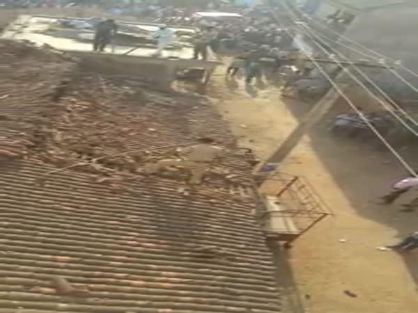 Tiger Attacks A Police Officer In Kantabanji
