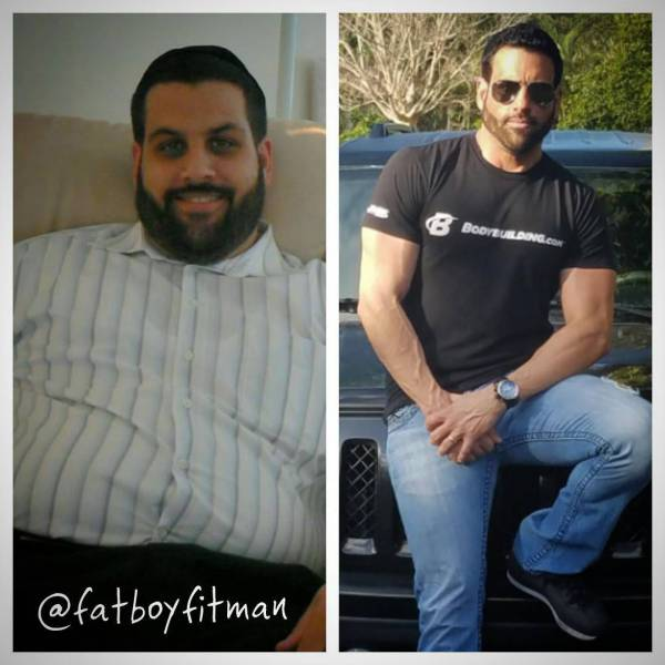 Guys Who Changed Their Weight And Their Lives (9 pics)