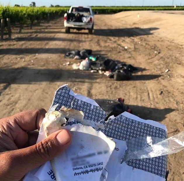 Farmer Gets Revenge On Truck Driver (2 pics)