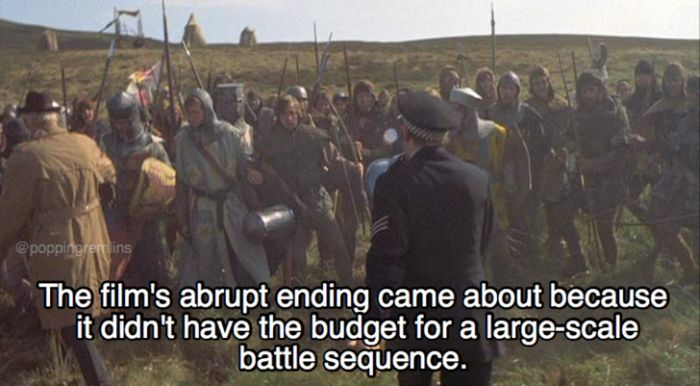 Hilarious Facts About Monty Python And The Holy Grail (21 pics)