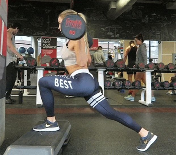 Gym Has Something Sweet To Show You (24 gifs)