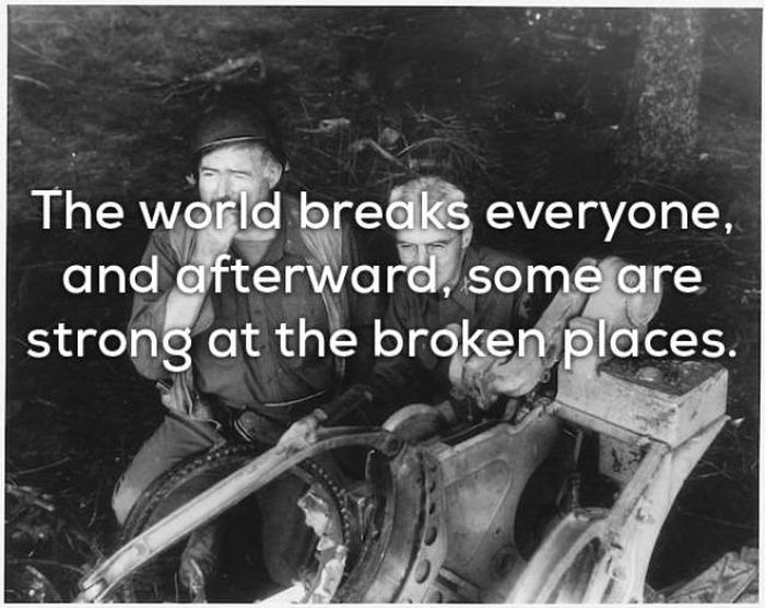 Ernest Hemingway Truly Was A Wise Man (18 pics)
