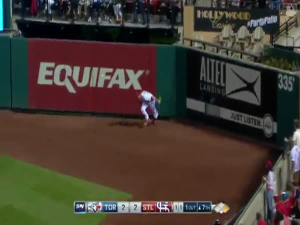 Baseball Player Makes Impressive Dive Over Catcher To Win The Game