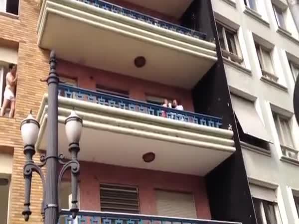Lover Escape Through The Window
