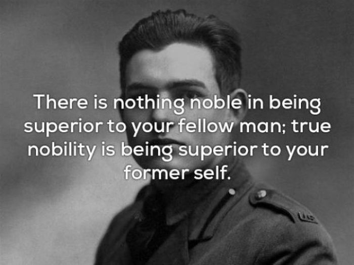 Ernest Hemingway Quotes That Are Definitely On Point (17 pics)