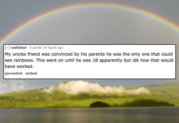People Share The Dumbest Thing They Believed When They Were Kids (13 pics)