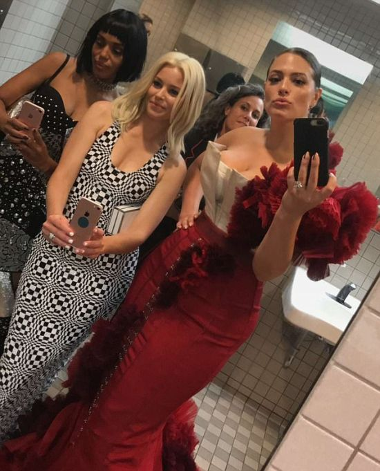 The Met Gala Bathroom Is Where The Really Party Took Place (9 pics)