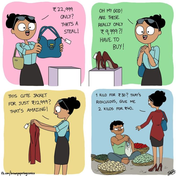 Illustrator Hilariously Captures What It's Like Growing Up In An Indian Family (35 pics)