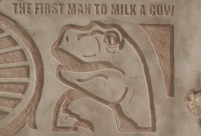 Americans Bury Memes In The Desert For Future Descendants (7 pics)