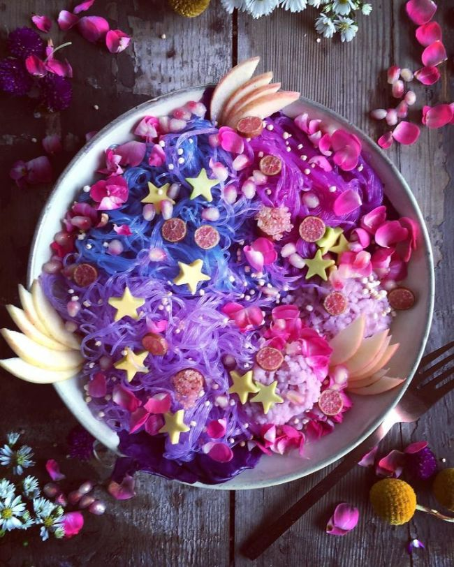 Unicorn Noodles Are The Healthiest Colorful Food Trend So Far (22 pics)