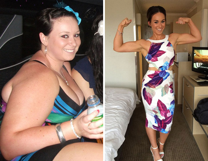 You Won't Believe These Before And After Photos Are The Same Person (35 pics)