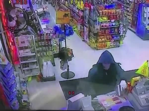 Armed Robber Gets A Taste Of Instant Justice