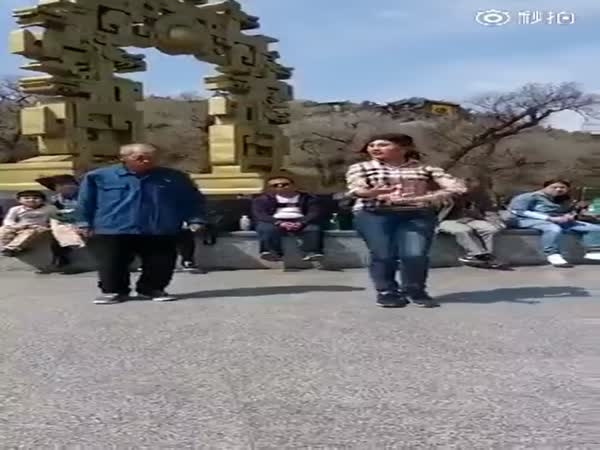 Asian Grandpa Proves Hes Still Got The Moves