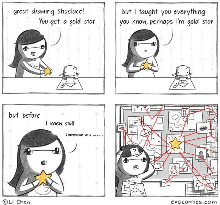 Artist Now Draws Comics Full Time Thanks To Their Cat (25 pics)