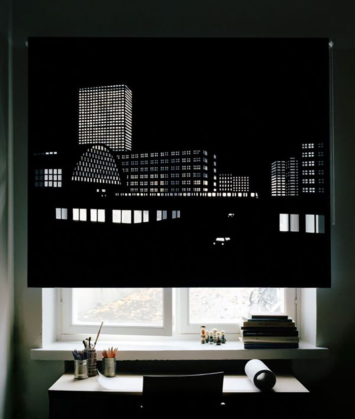 Blackout Curtains That Will Make You Feel Like You're Living In A Big City (12 pics)