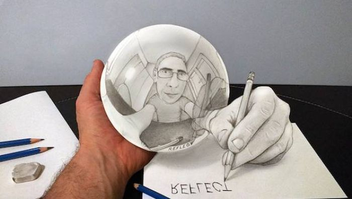 It's Hard To To Believe These 3D Illusions Are Created With Just A Pencil (25 pics)