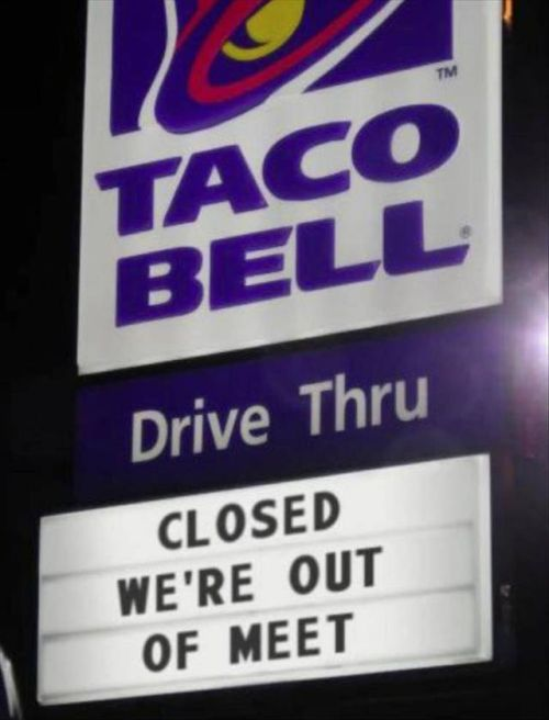 Fast Food Chains Are Good At Food But Not Street Signs (18 pics)