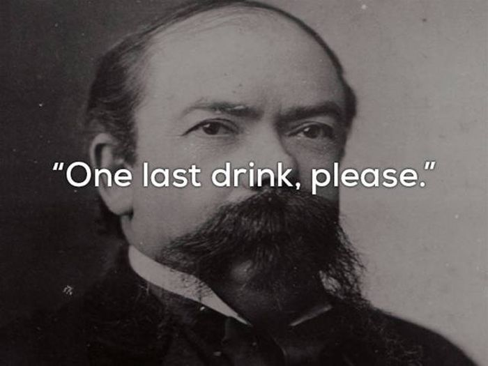 The Last Words Of Famous People Throughout History (20 pics)