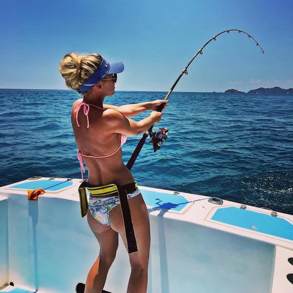 Pro Fisher Michelle Clavette Is A Real Catch (14 pics)