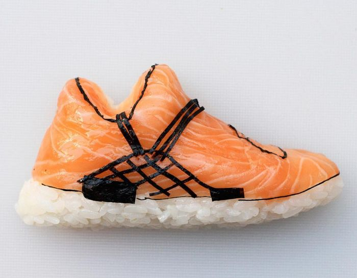 Sneakerheads Are Going To Love These Sushi Shoes (15 pics)