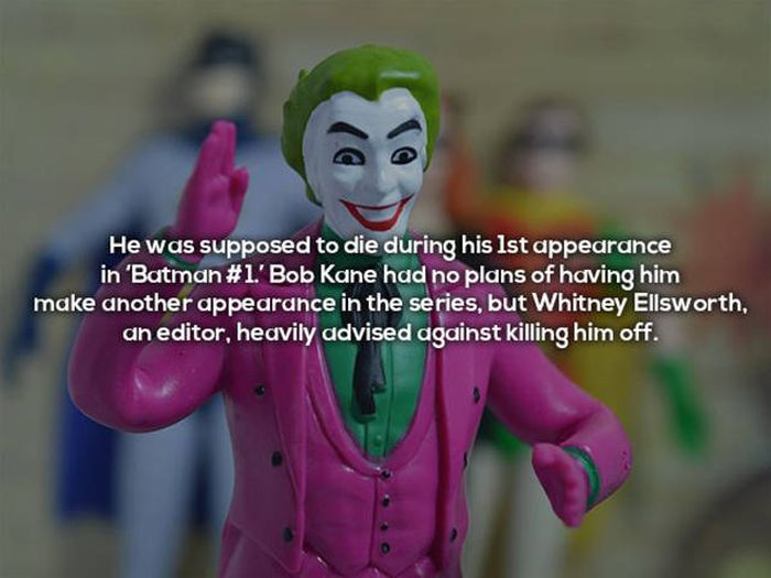 Ominous Facts About The Iconic Batman Villain The Joker (16 pics)