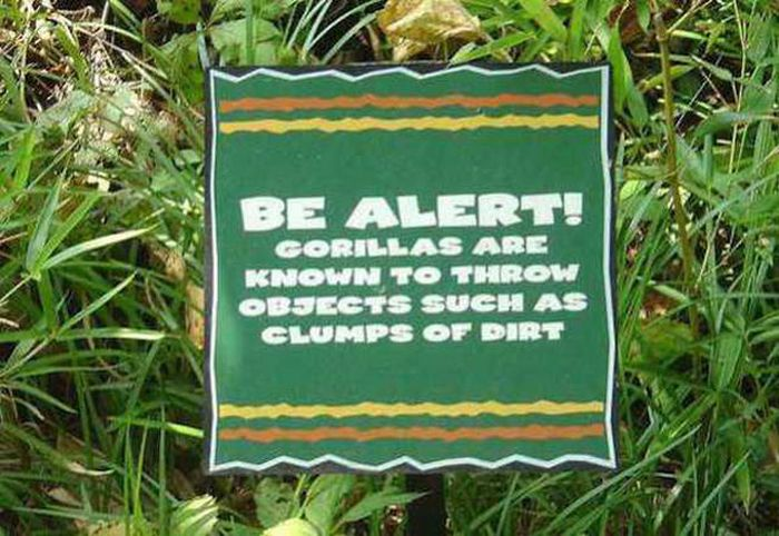 Sometimes Zoo Signs Are Even More Interesting Than The Animals (27 pics)