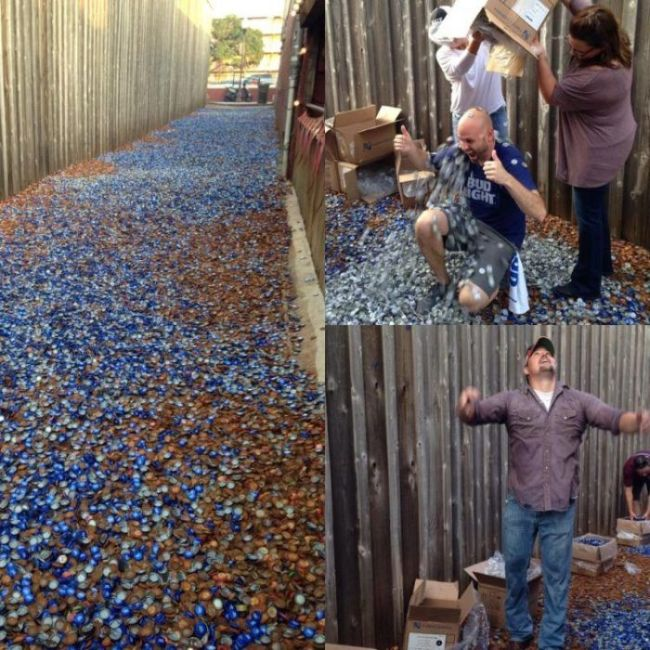 Texas Has A Unique Collection Of Bottle Caps (14 pics)