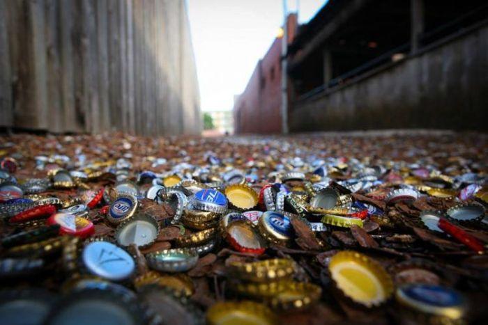 Texas Has A Unique Collection Of Bottle Caps (14 pics)