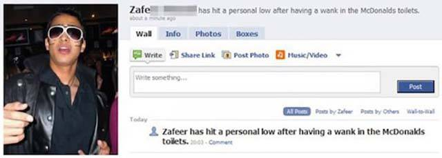 Dumb People Who Admitted Their Crimes Via Facebook (25 pics)
