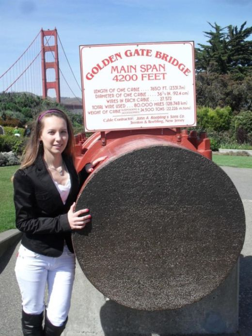 This Cable From The Golden Gate Bridge Consists Of 27,572 Wires (3 pics)