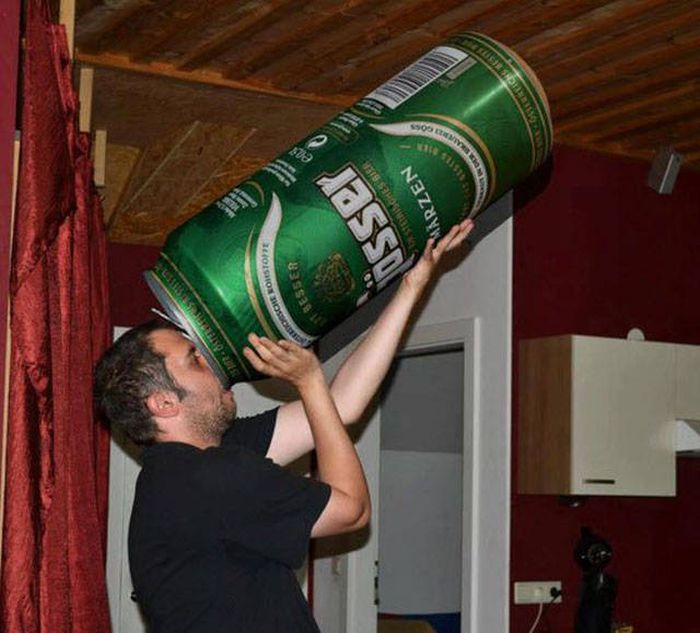 The Truth Is There's Just Never Enough Beer (51 pics)