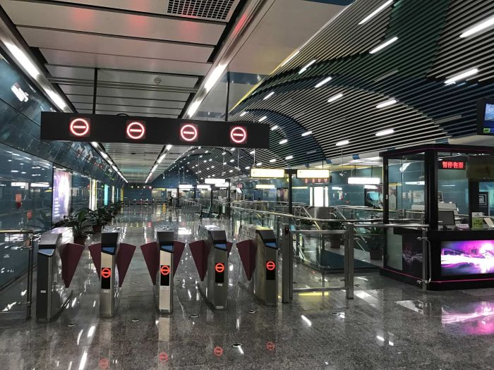 This Is China's Oddest Subway Station (6 pics)