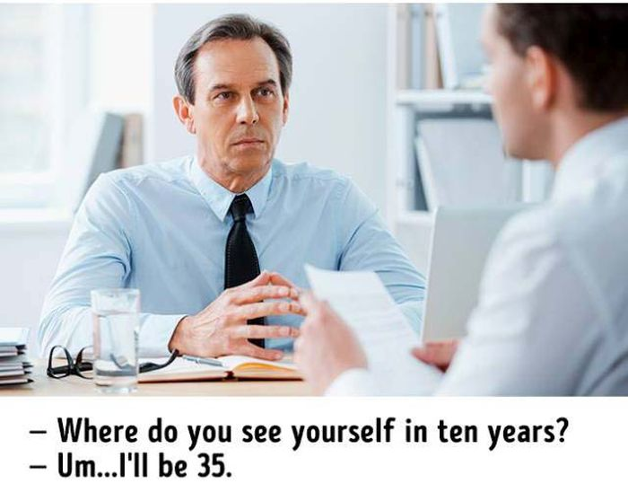 Hilarious Truths About Job Interviews (11 pics)